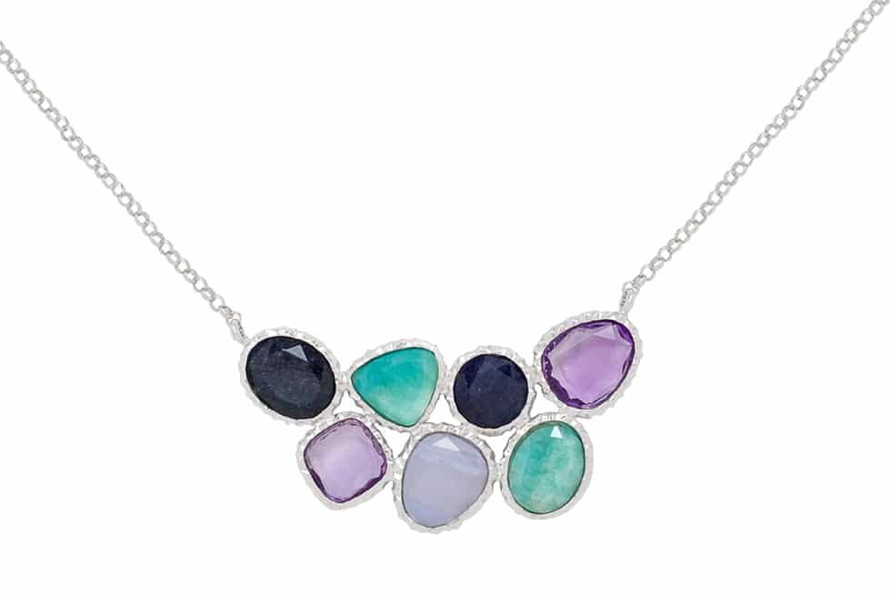 frederic elegant necklace is part a new gemstone collection by Frederic Duclos duclos-elegant necklace-gemstone collection