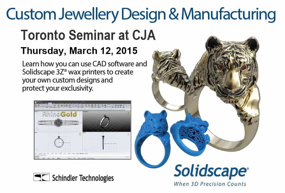 Master the art of jewellery design using CAD software and